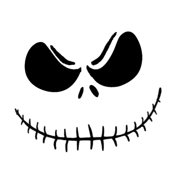 Jack skellington pattern could. Joker clipart pumpkin stencil