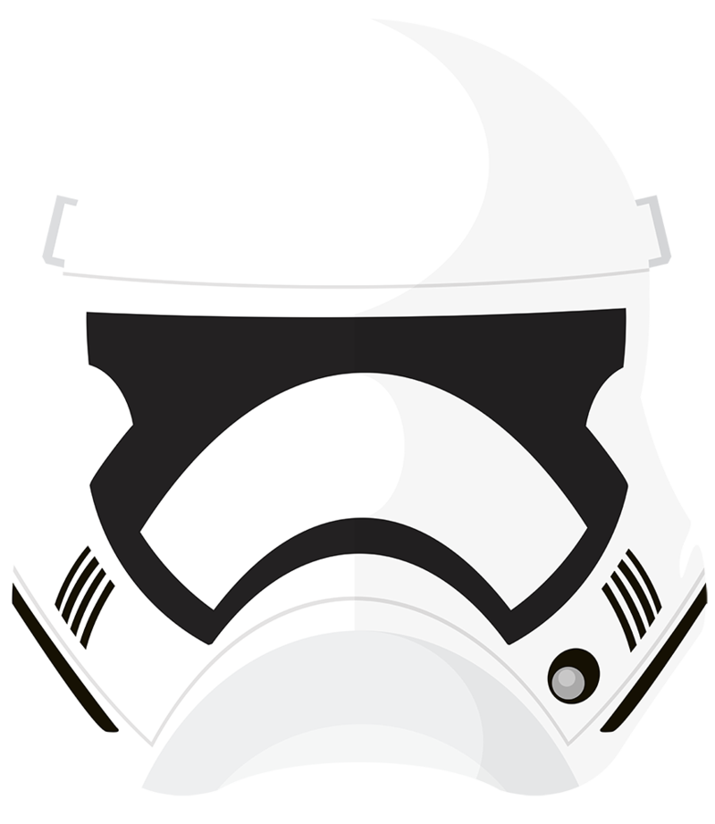 The force awakens by. Stormtrooper helmet png