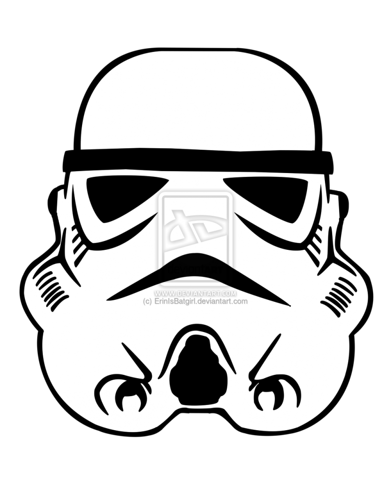 Drawing helmet at getdrawings. Starwars clipart stormtrooper