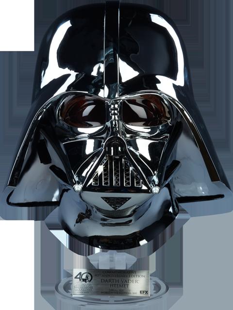 Star wars scaled replica. Darth vader helmet png