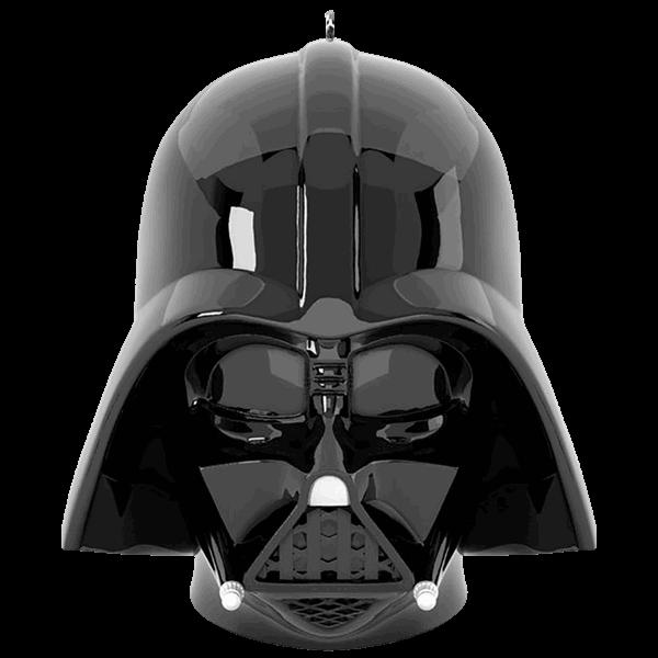 Star wars hallmark keepsake. Darth vader helmet png