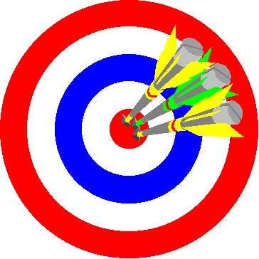 Darts . Dart clipart clip art