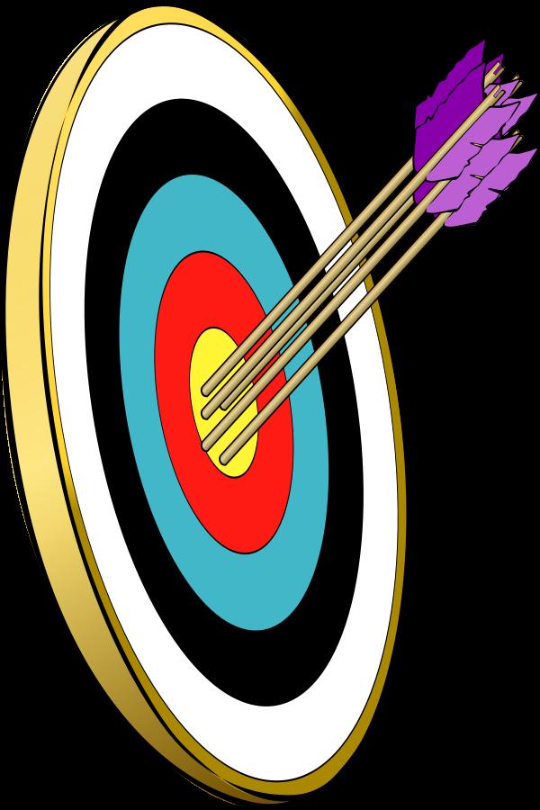 Missions clipart aim. Target clip art bullseye