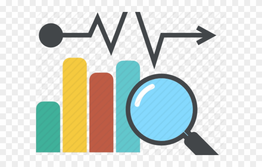 Graph statistical collecting clip. Statistics clipart data handling