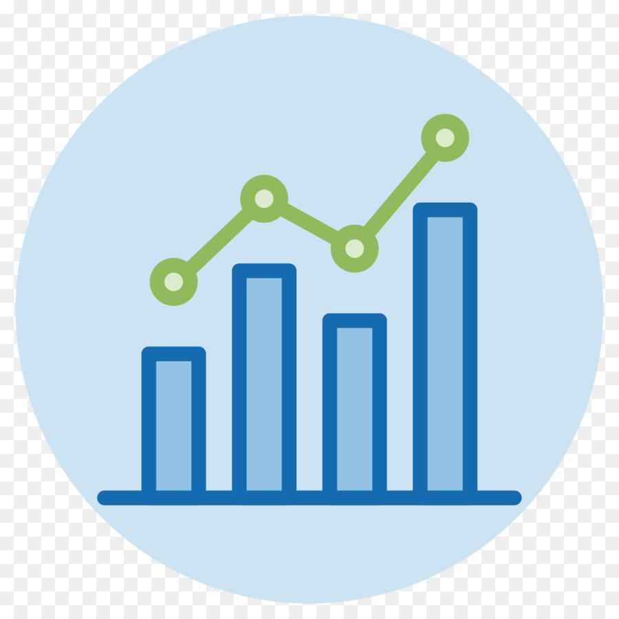 Circle logo chart data. Statistics clipart performance graph