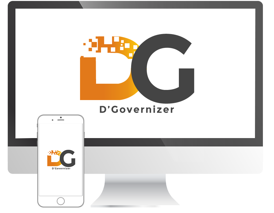Products solution mobile app. Data clipart data governance