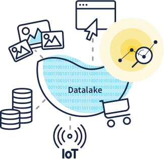 Data clipart data handling. Big solution to store