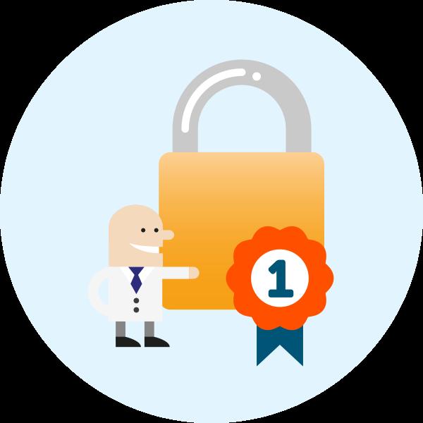 Yoozoom telecom ltd padlock. Lock clipart data security