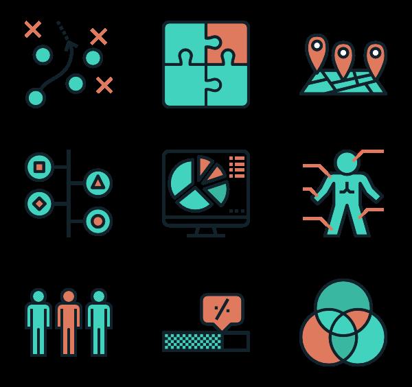 visual icon packs. Data clipart data visualization