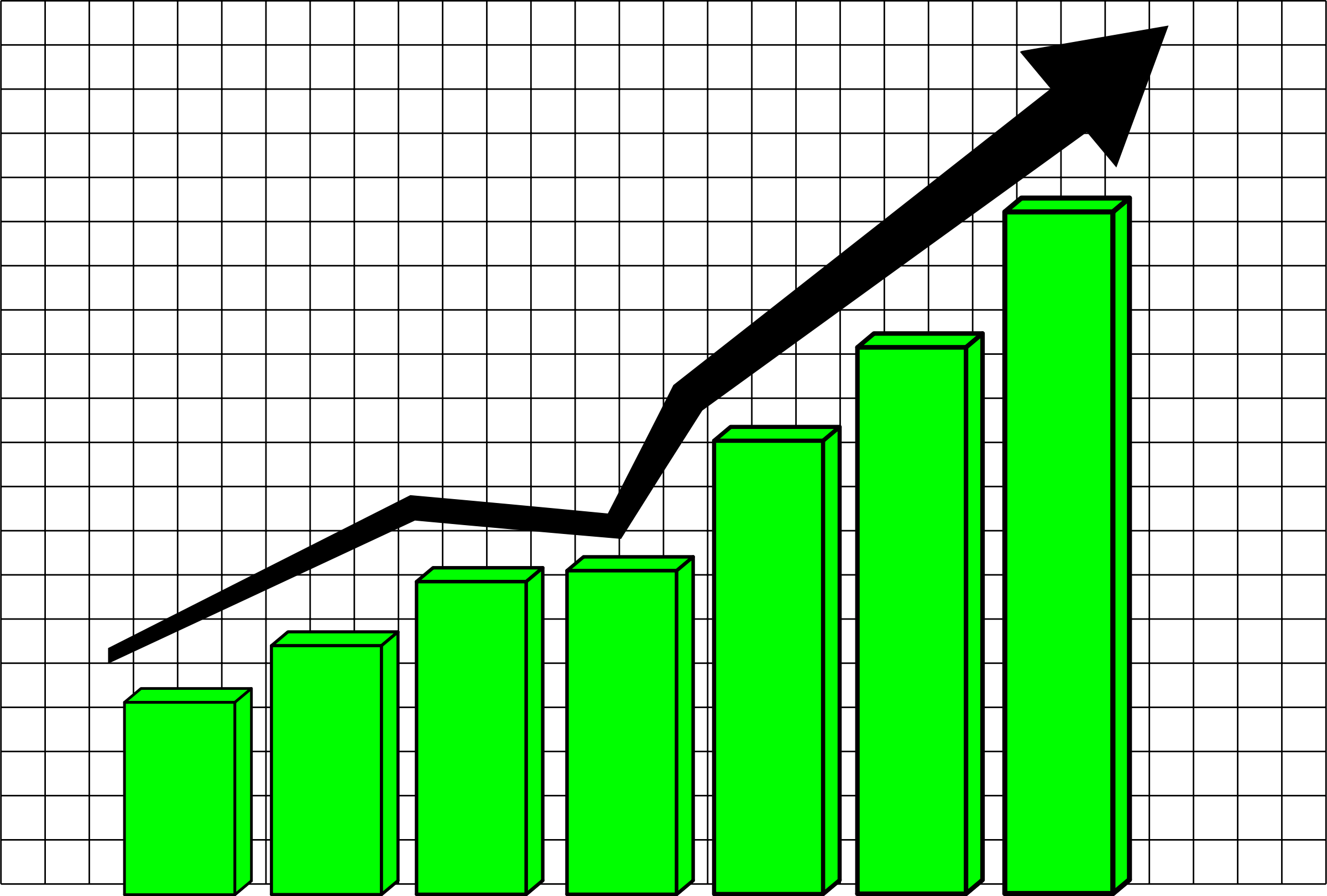 Statistics clipart stock market graph.  collection of high