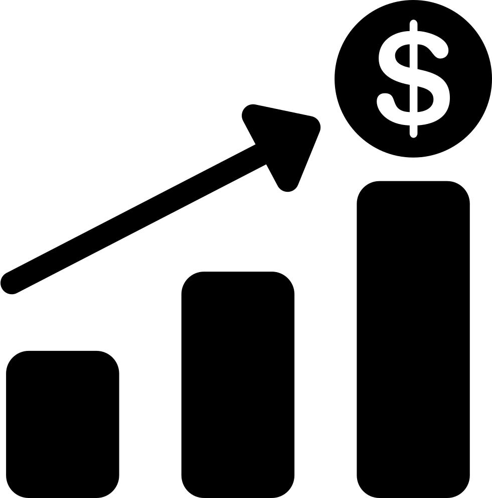 Financial bar svg png. Finance clipart finance chart