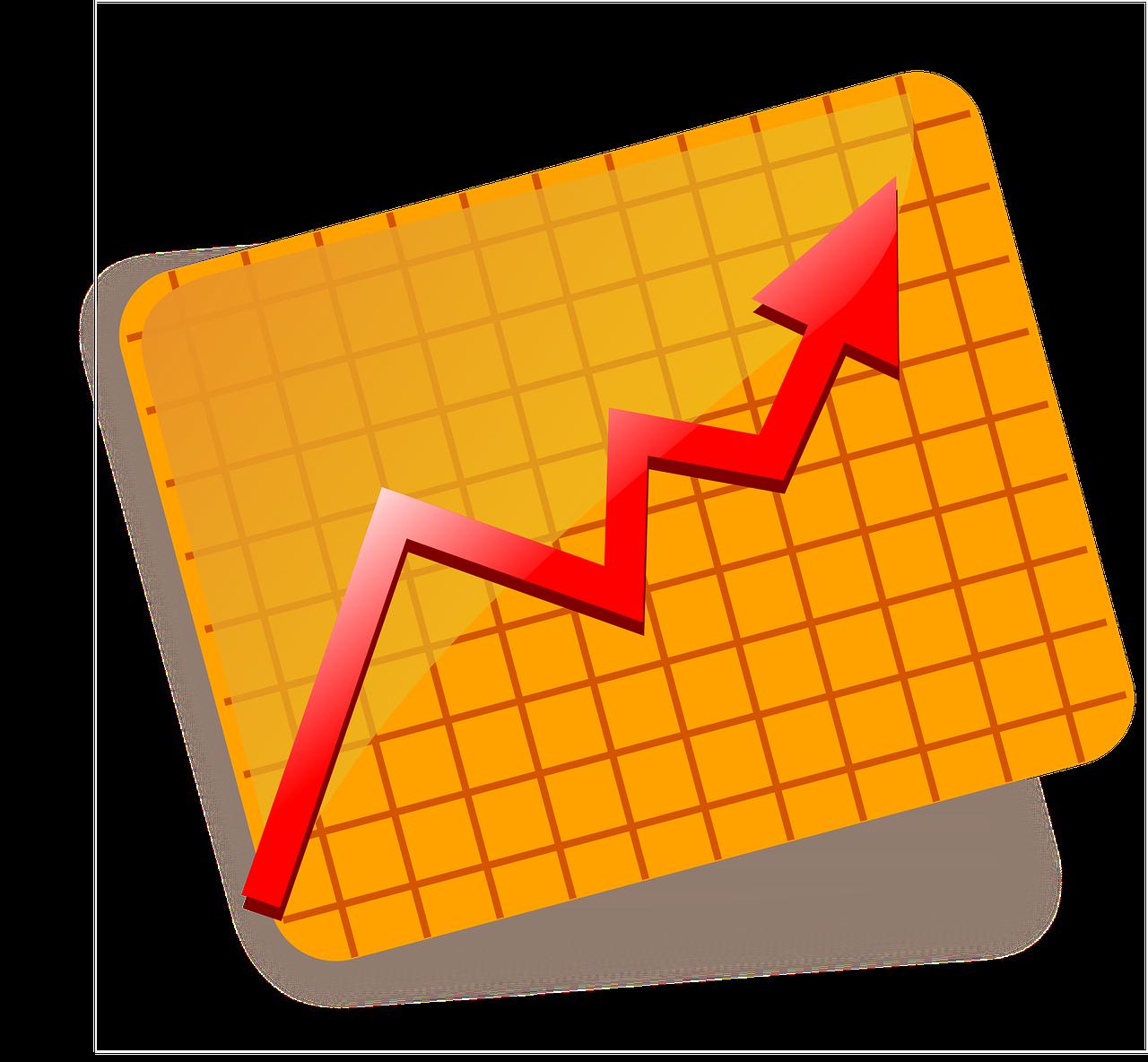Data clipart finance chart. Sjuggerud s melt up