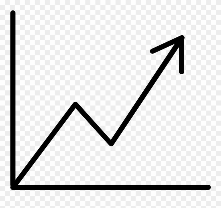 Graph clipart line graph. Long term data increasing