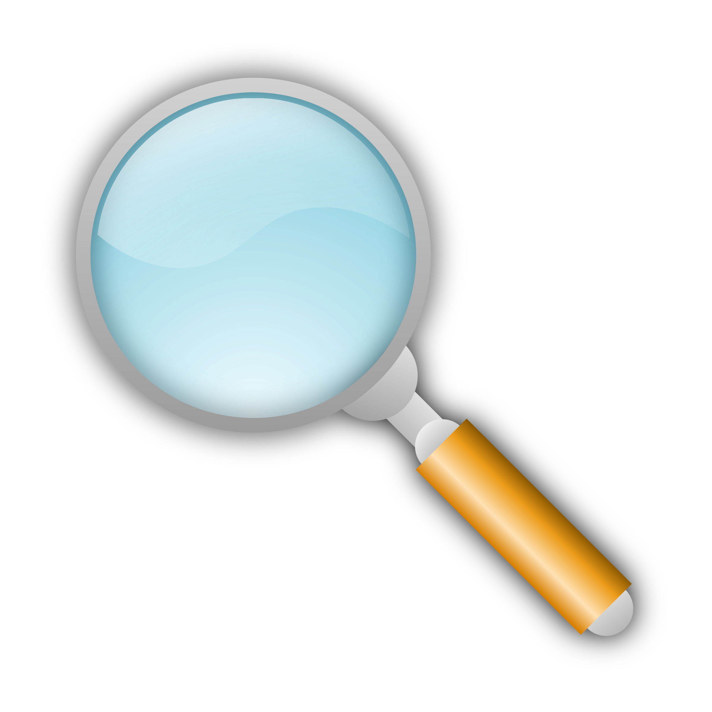 People clipart magnifying glass. Group