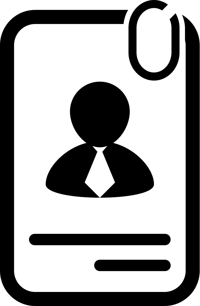 Businessman paper svg png. Data clipart personal data