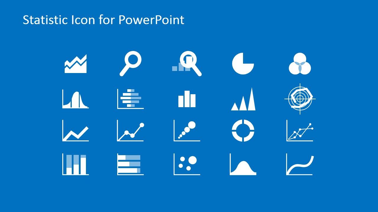 Statistics clipart data presentation. Professional powerpoint icons