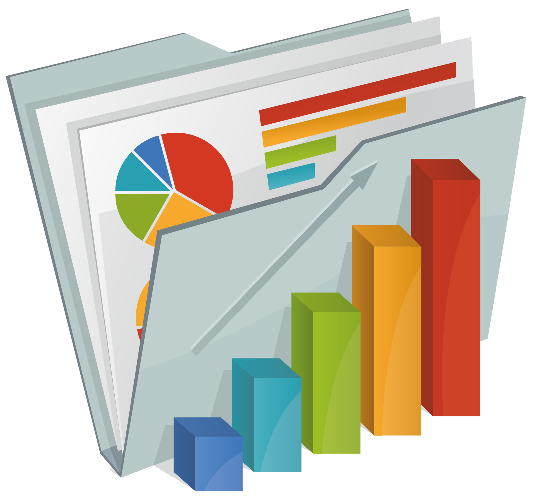 Analyst trend analysis free. Report clipart research report