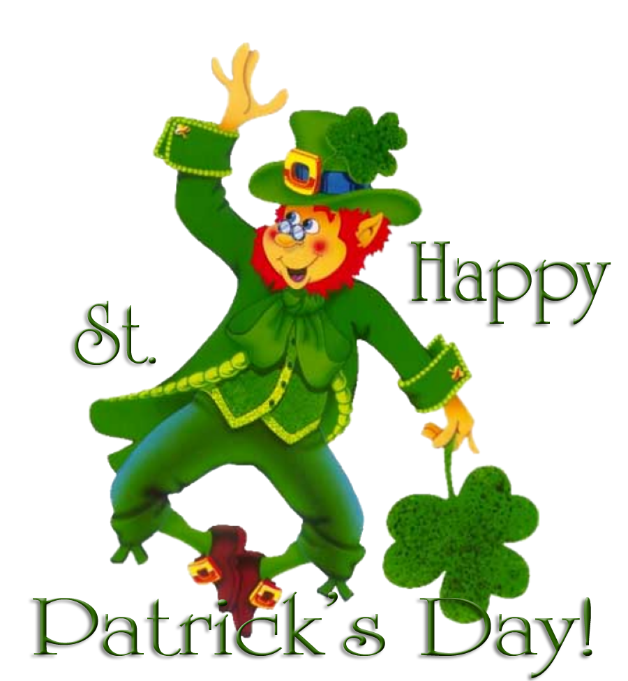 Animated st patricks day. Moving clipart motion