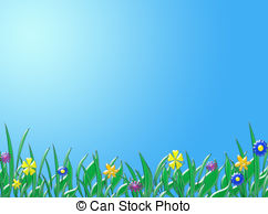 Background clip art library. Sunny clipart spring day