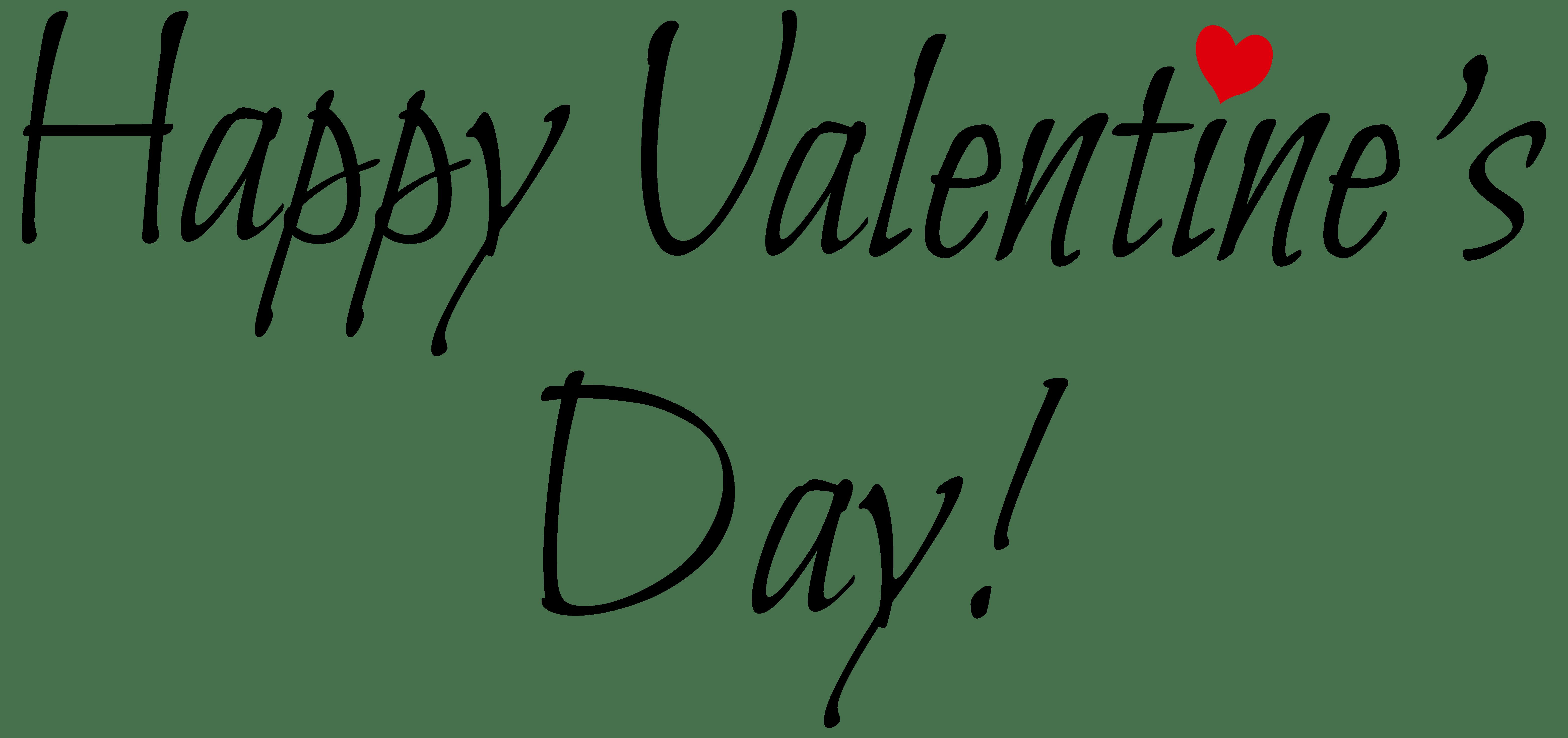 Happy valentines valentine s. Day clipart black and white