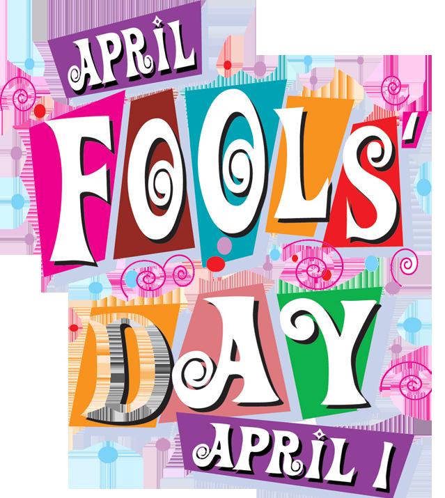 Words clipart april. Fools day