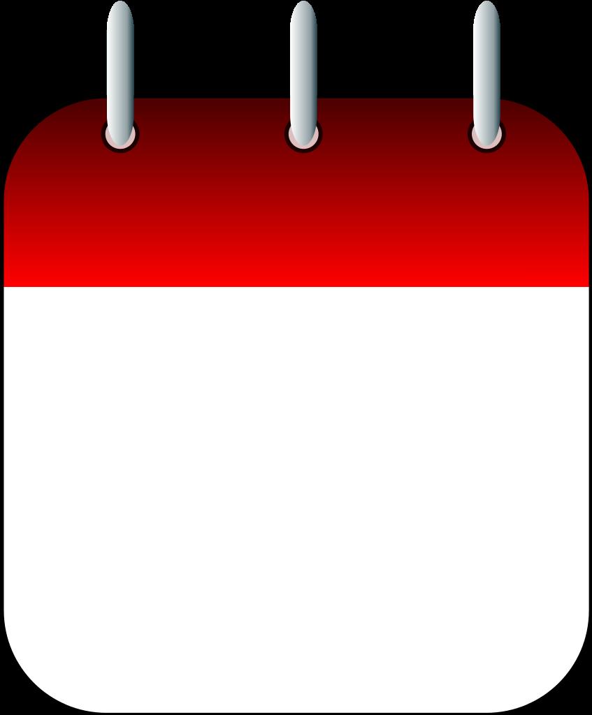 Calendar card clipground date. Schedule clipart travel schedule