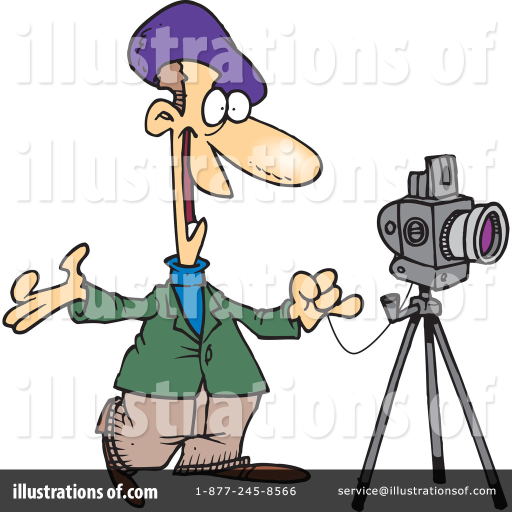 Photographer clipart day. Illustration by toonaday