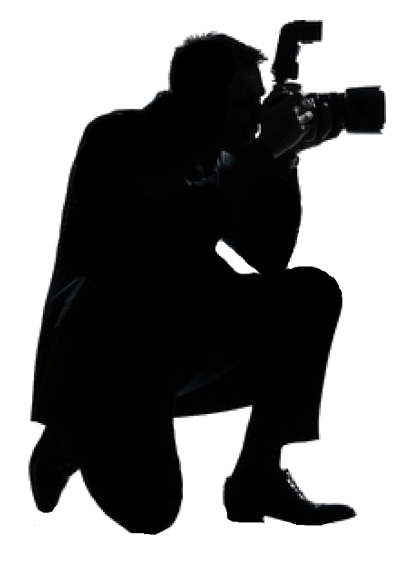 With camera silhouette png. Photography clipart male photographer