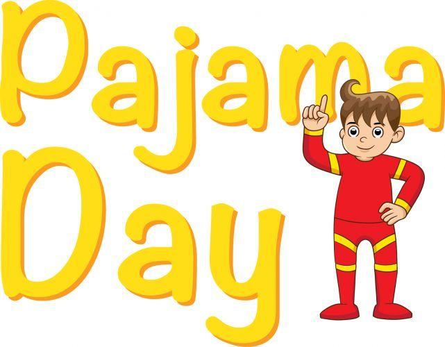 Pajamas clipart pj day. Pajama clip art pto