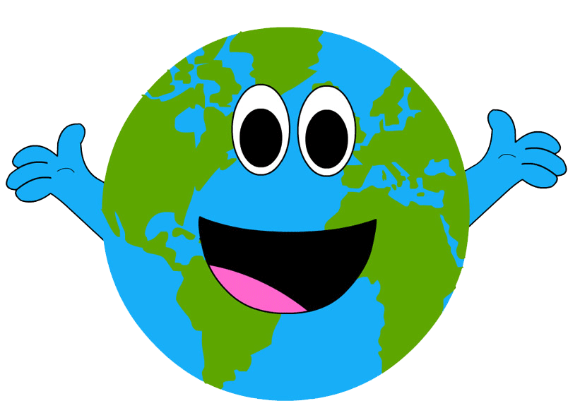 Planets clipart face. Earthdaycentral earth day httpearthdaytodayearthdayclipart