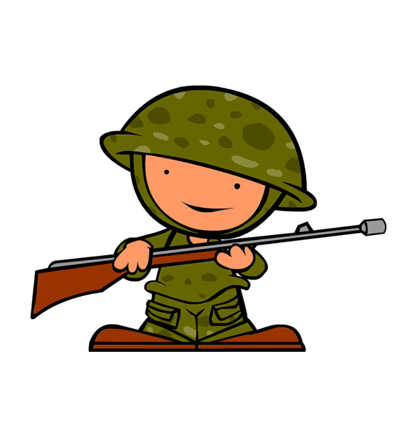 Military clipart veterans parade. Day soldier clipartix