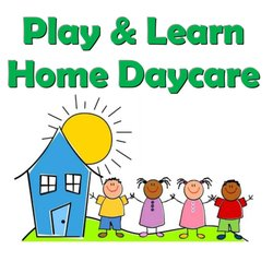 Play and learn home. Daycare clipart