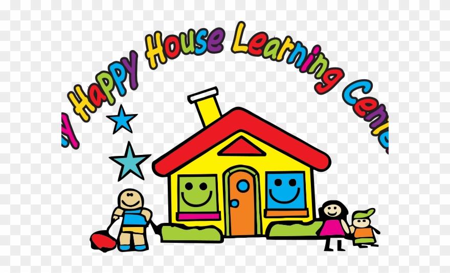 Daycare clipart cartoon. School day care center