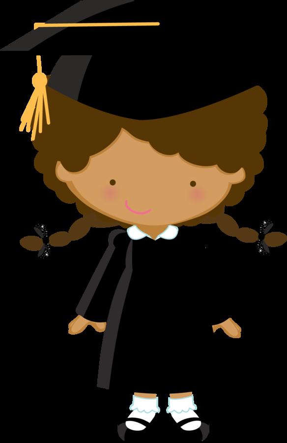 Graduate clipart kinder. Minus say hello ilustraciones