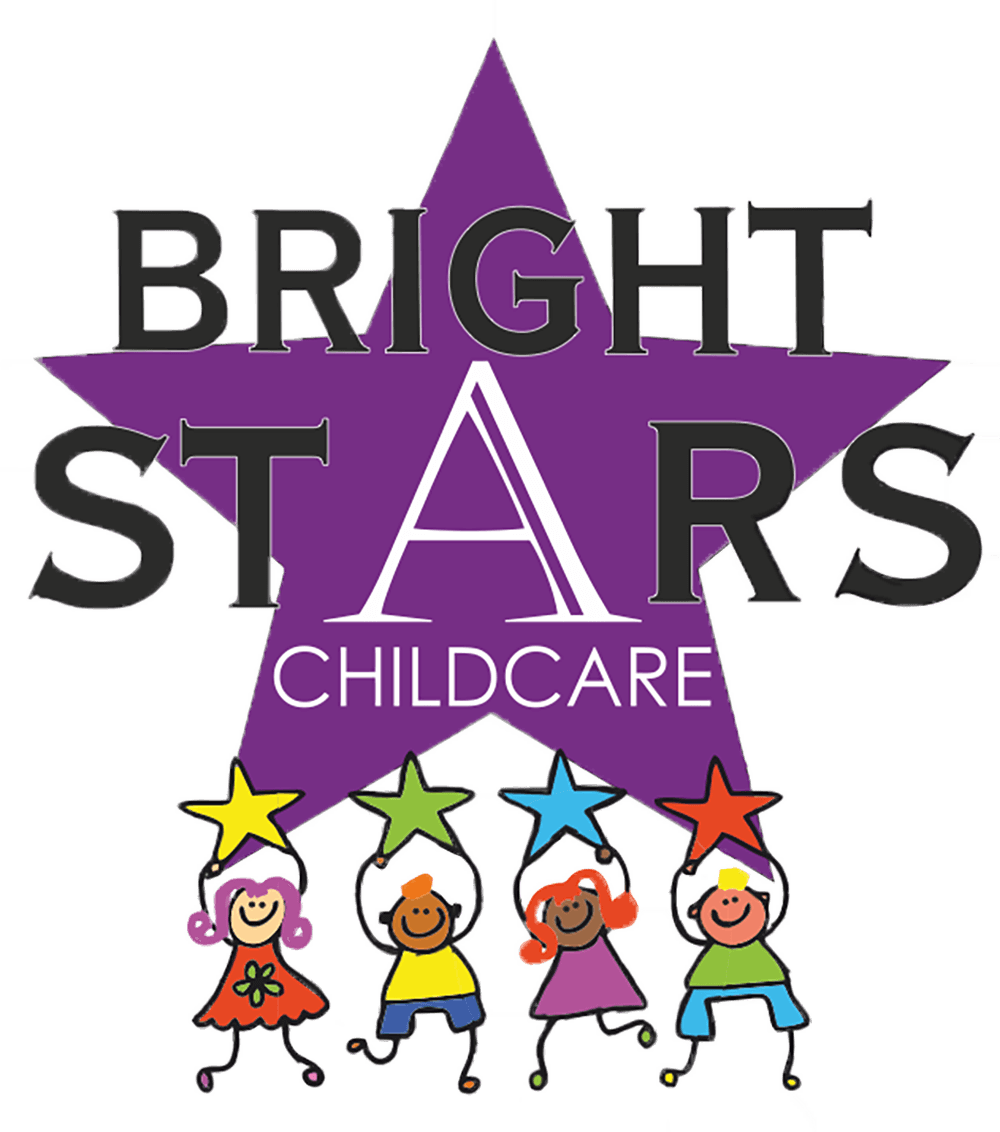 Full time part nursery. Number 4 clipart bright