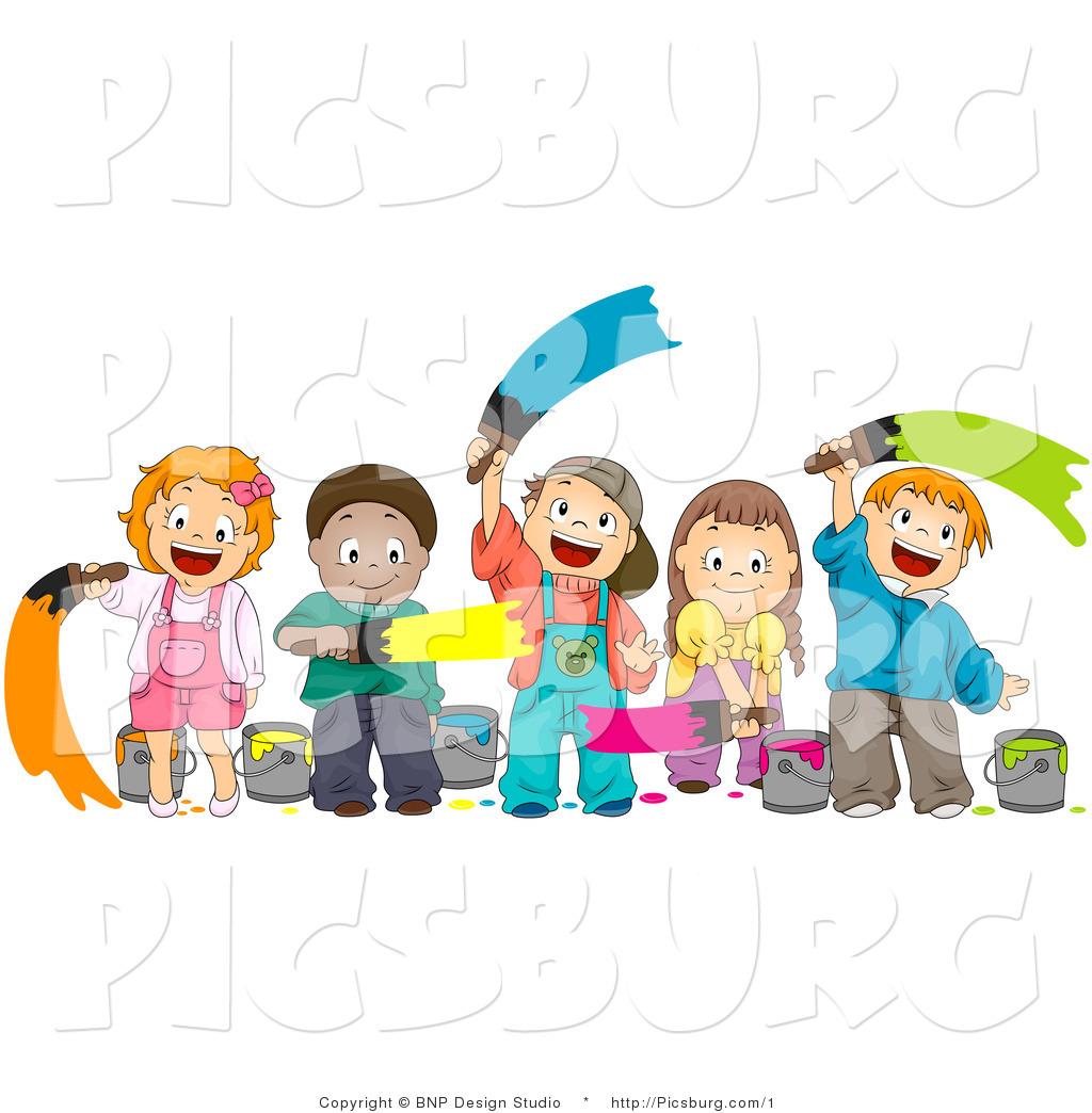 Kids Arts And Crafts Clip Art   Preschool art projects, Art and craft  videos, Arts and crafts for teens