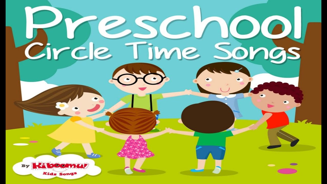 Circle songs for preschool. Storytime clipart mat time