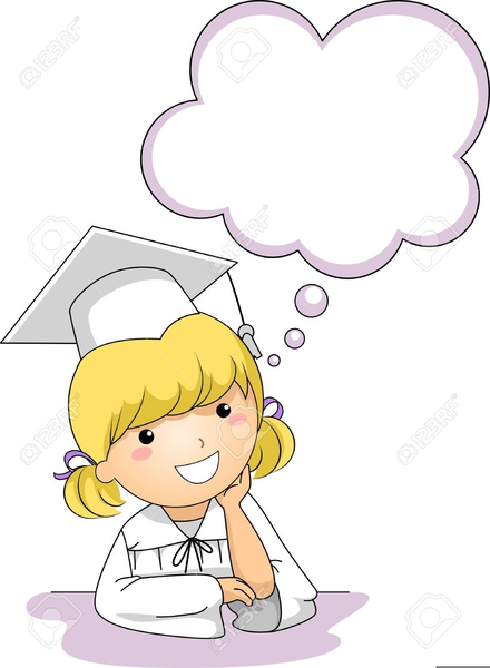 Girl free images at. Daydreaming clipart