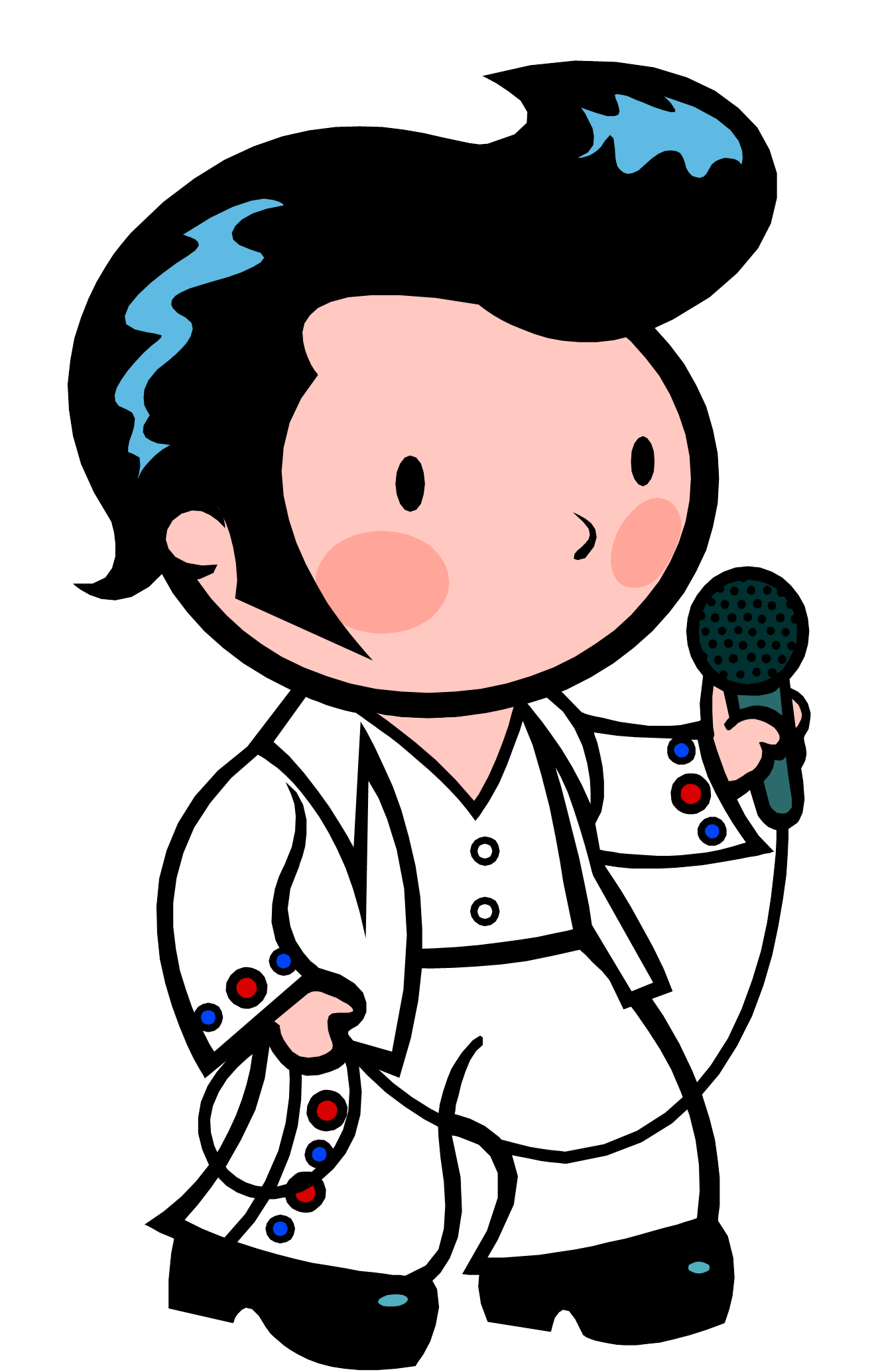Elvis clipart easy.  daydreaming distracted huge