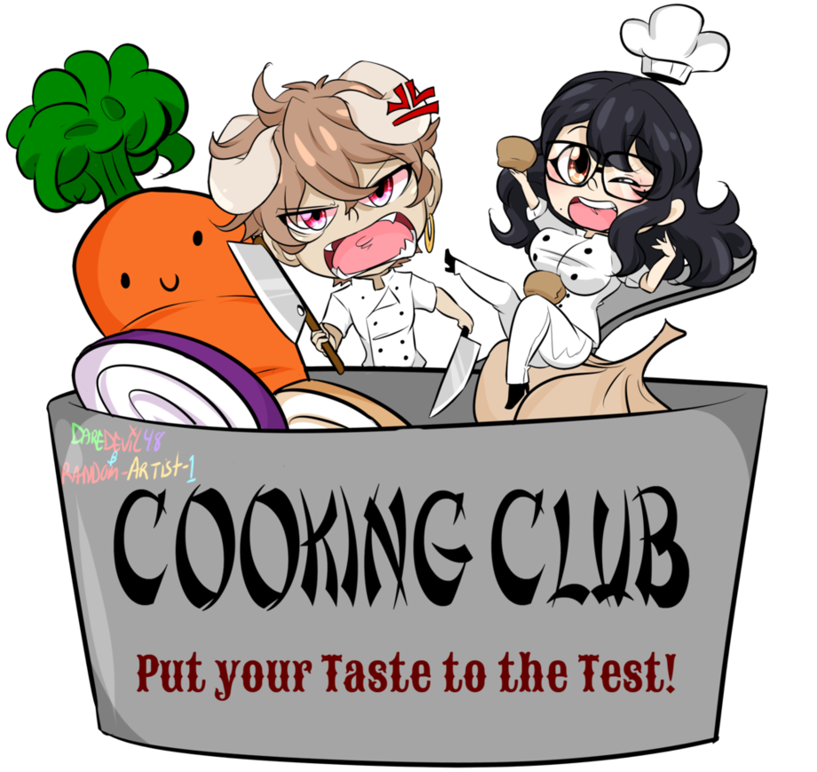 Mazoku manor cooking club. Daydreaming clipart student testing