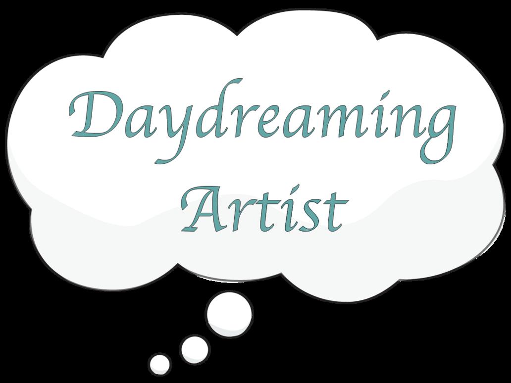 Artist logo by shikara. Daydreaming clipart work