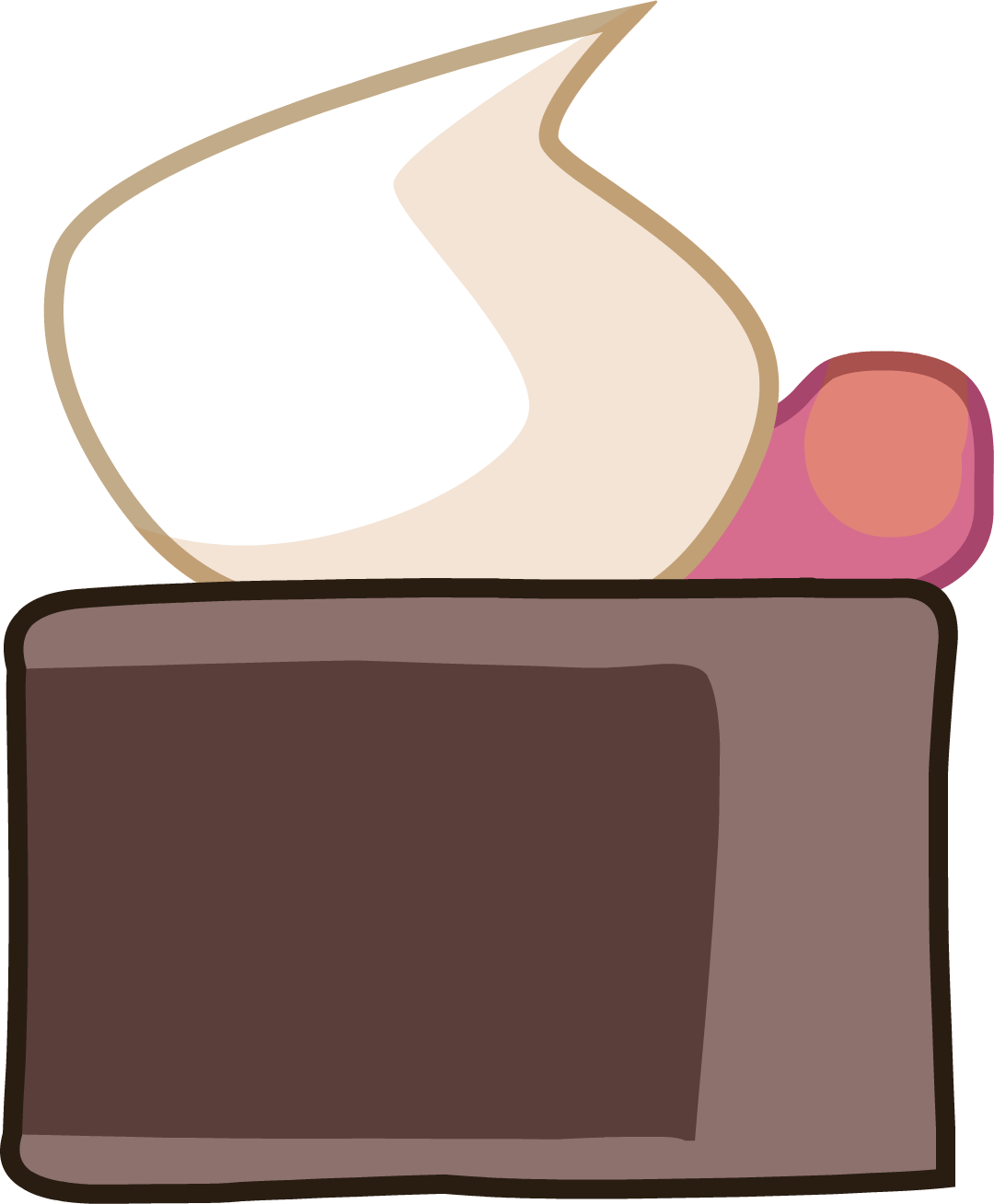 Image cake new remade. Dead clipart body bag