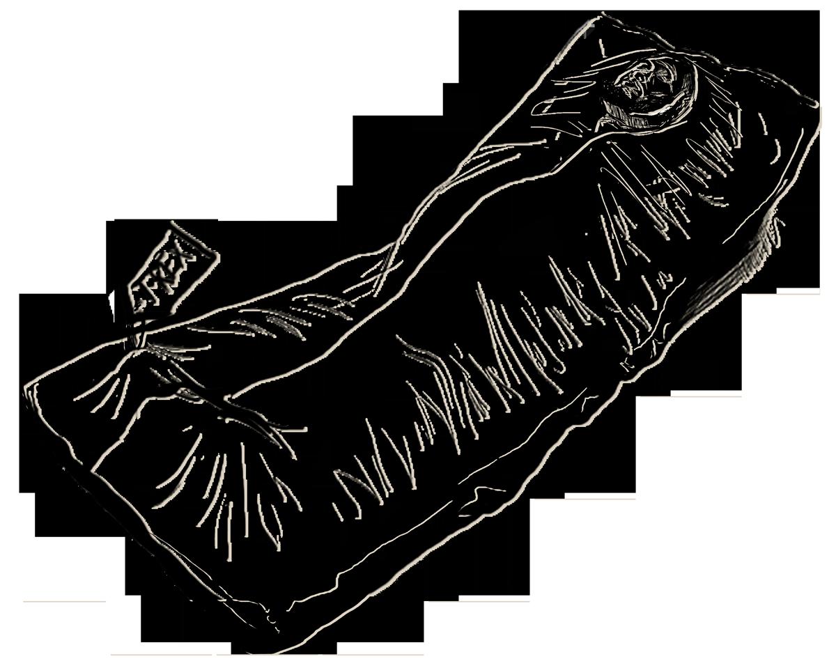 Drawing at getdrawings com. Dead clipart body bag