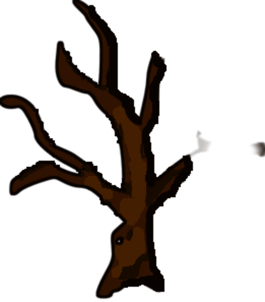 Clip art. Tree clipart dead