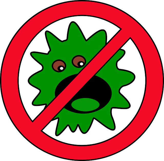 germ clipart drawing