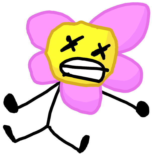 Image battle for dream. Dead flower png