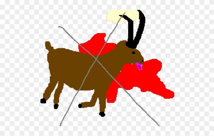 Png download pinclipart . Dead clipart dead goat