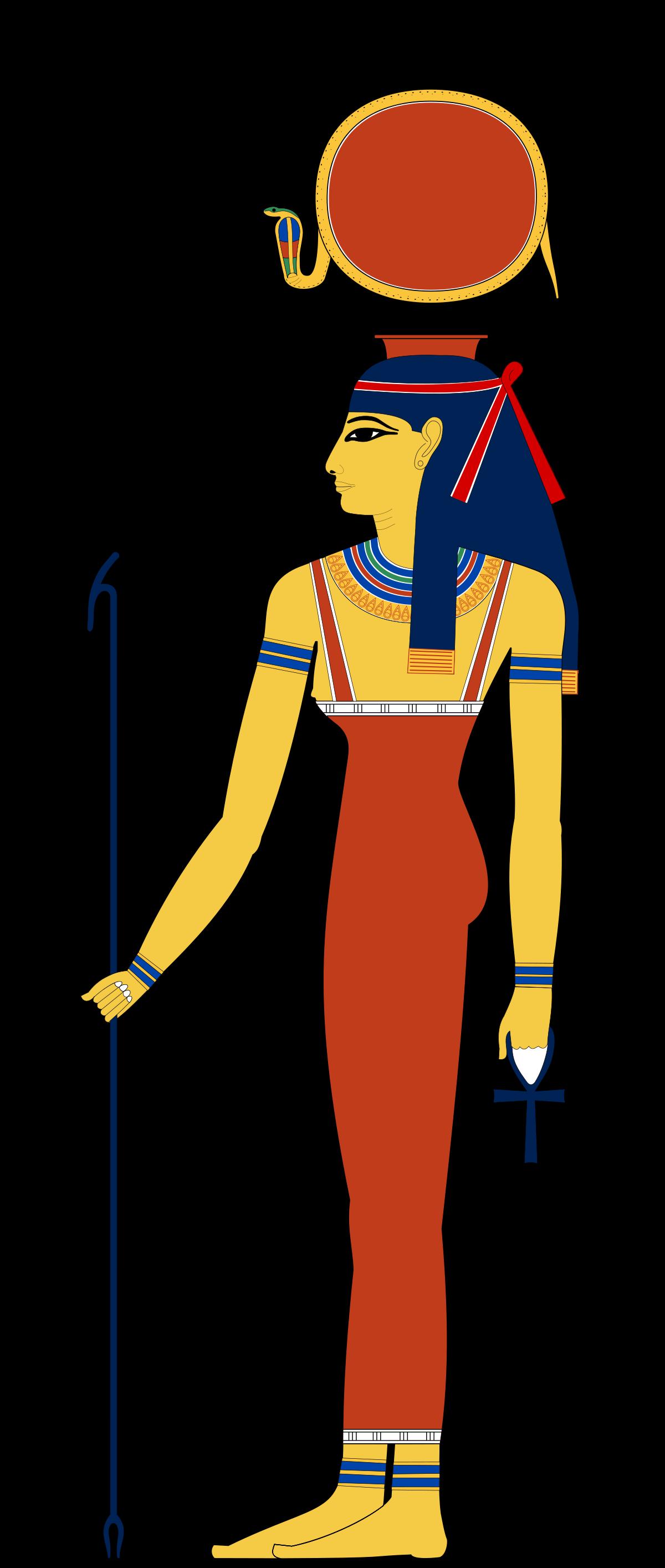 Hathor wikipedia . Horn clipart devel
