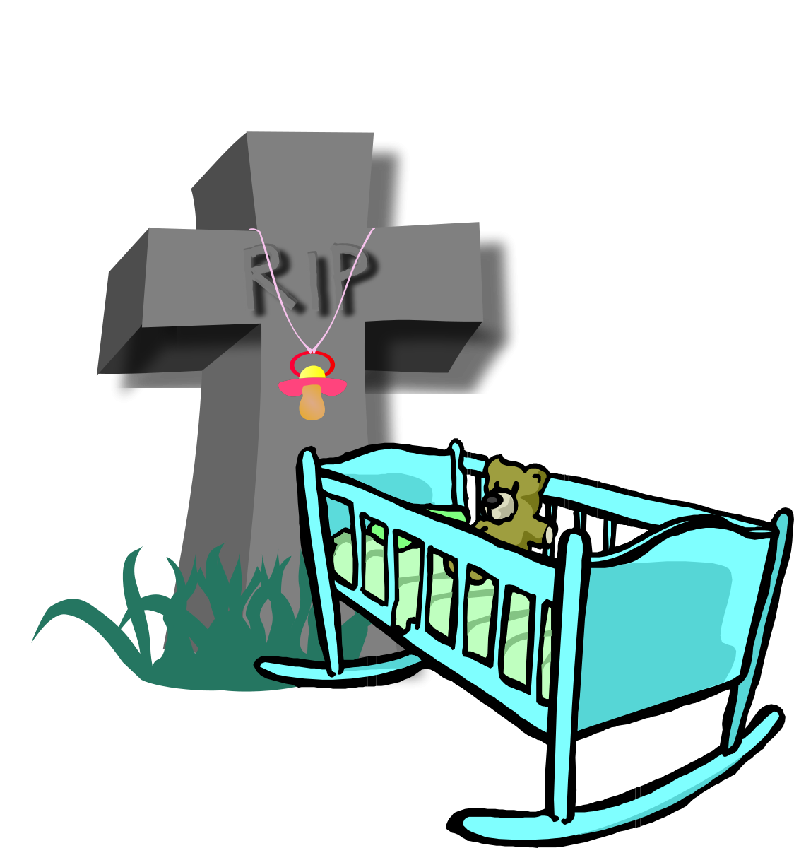 Free baby death cliparts. Funeral clipart mortality
