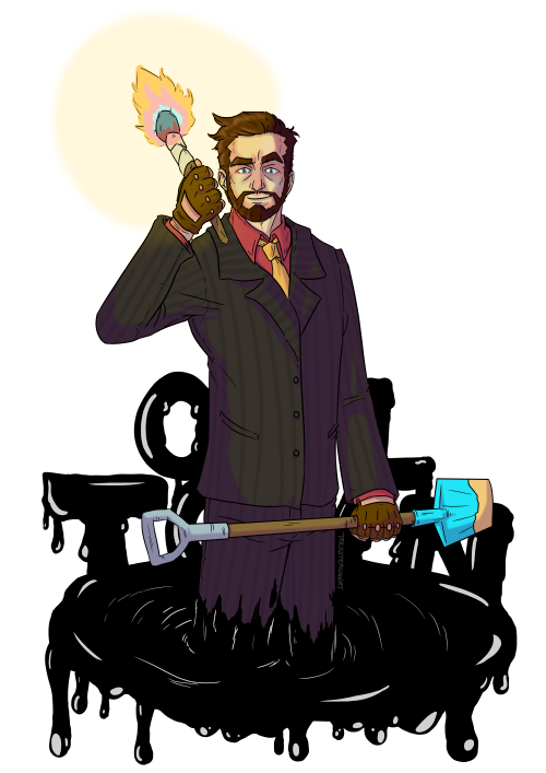 Downtown druidz tumblr yogscast. Oil clipart digger